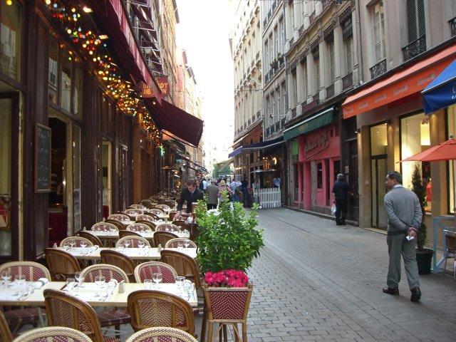 Rue Merciere - Lyon, France