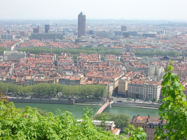 View over Lyon, France - Adventure Bagging