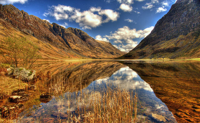The A82 road to Fort William - Adventure Bagging