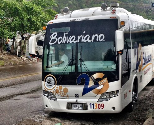 Bolivariano - a busy company in Colombia, South America