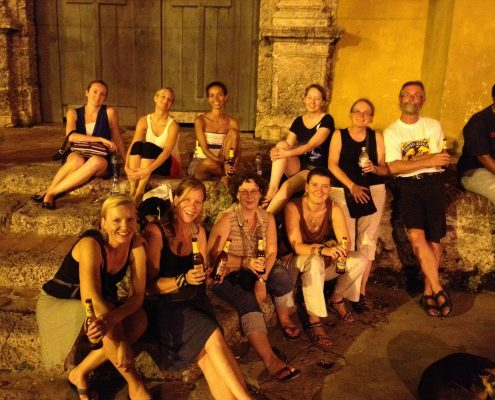 Cartagena tour group, Colombia