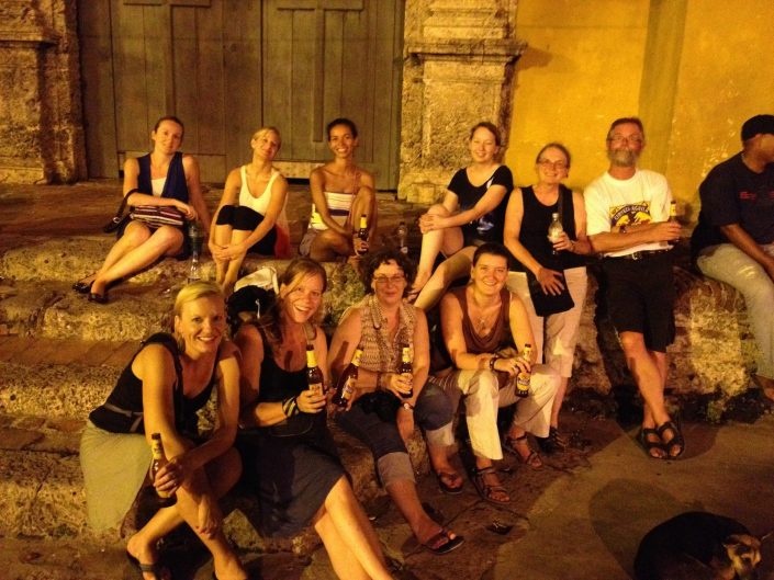 Cartagena tour group, Colombia
