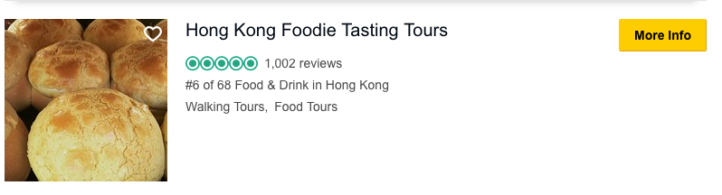 Hong Kong foodie tasting tour - Tripadvisor