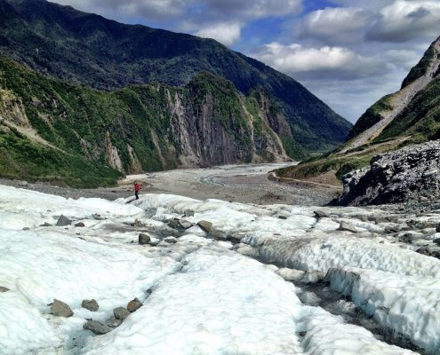 Hiking The Fox Glacier - New Zealand