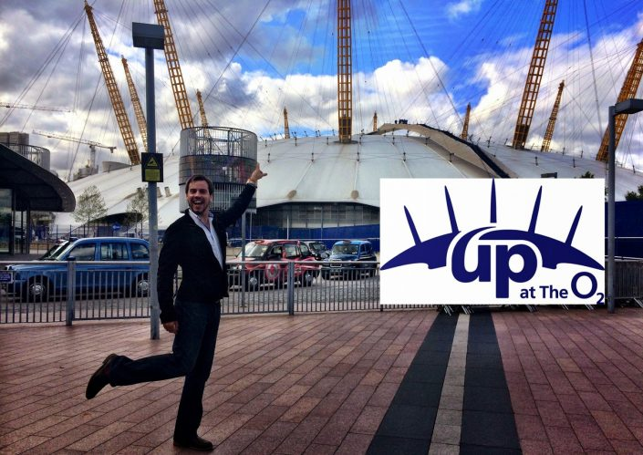Hiking Over The o2 Arena In London - Simon Heyes