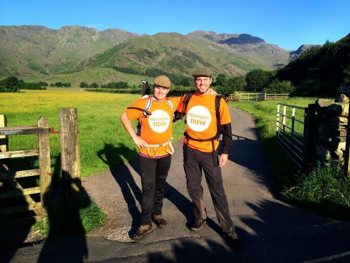 24 peaks hiking challenge for Meningitis Now
