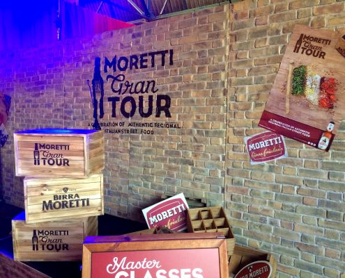 Moretti Gran Tour, London