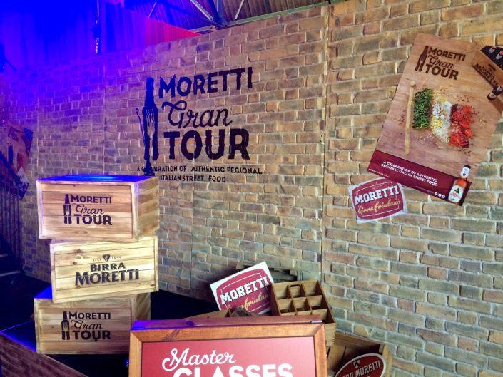 Moretti Gran Tour, London