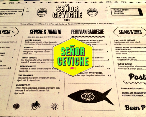 Senior Ceviche - Kingly Court, London