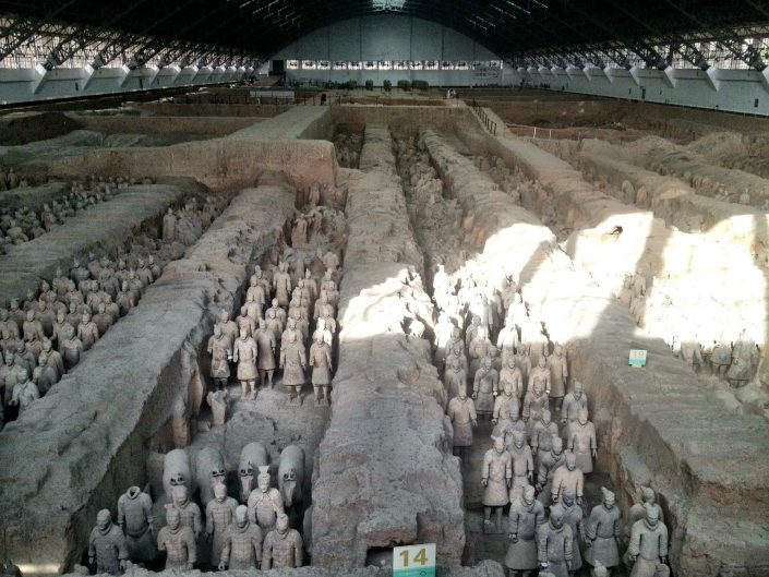 The terracotta warriors - Xi'an, China