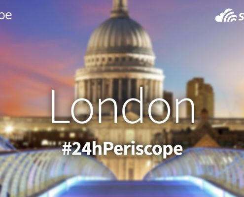 24 hour Periscope with Skyscanner in Islington, London - Adventure Bagging