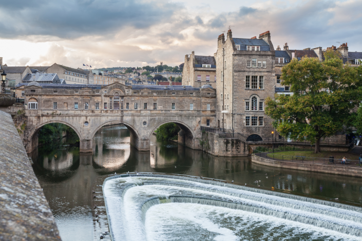 Pulteney Bridge in Bath - Staycation