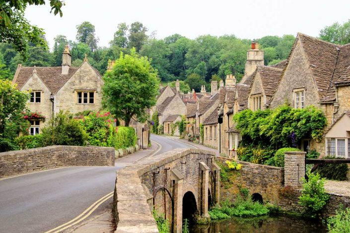 Castle Combe - the best looking village in the Cotswolds?