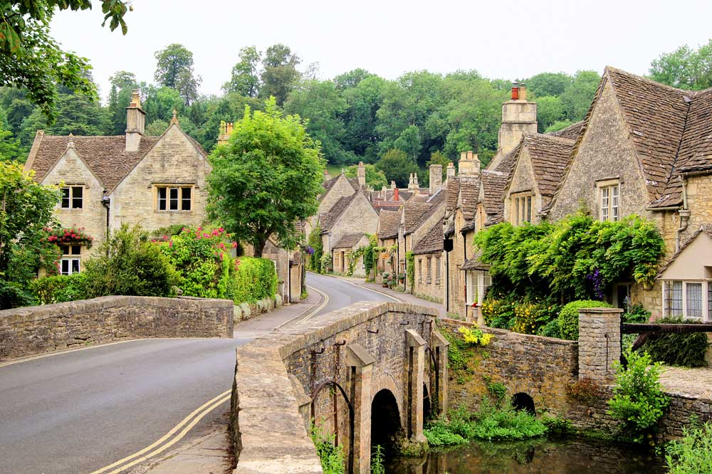 Map Of England Villages.18 Of The Prettiest Villages In The Cotswolds Adventure Bagging