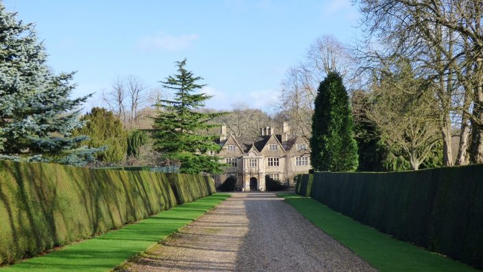 Upper Slaughter Manor in the Cotswolds