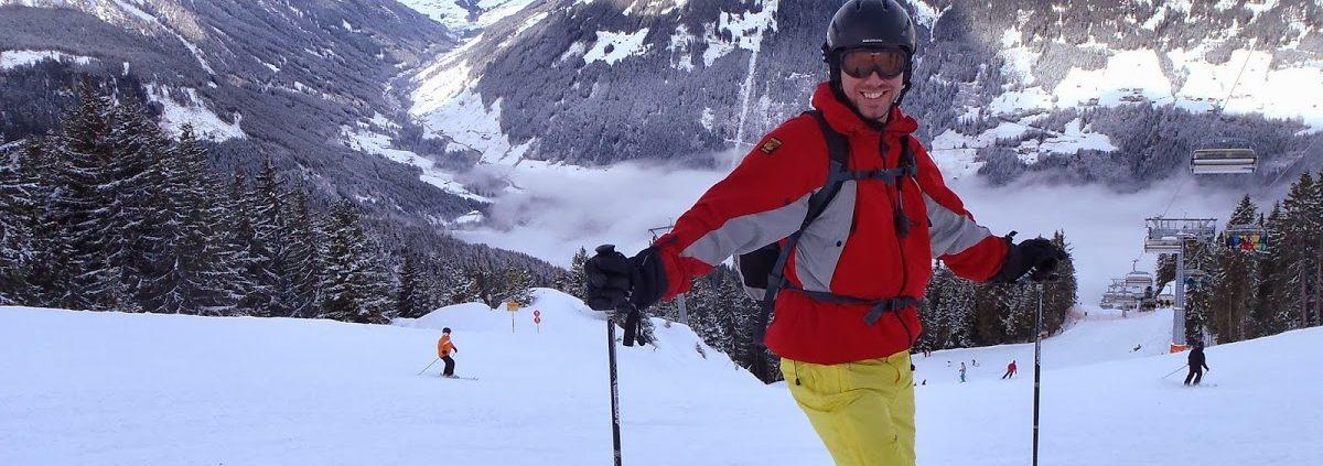 Simon Heyes - Skiing in Mayrhofen, Austria