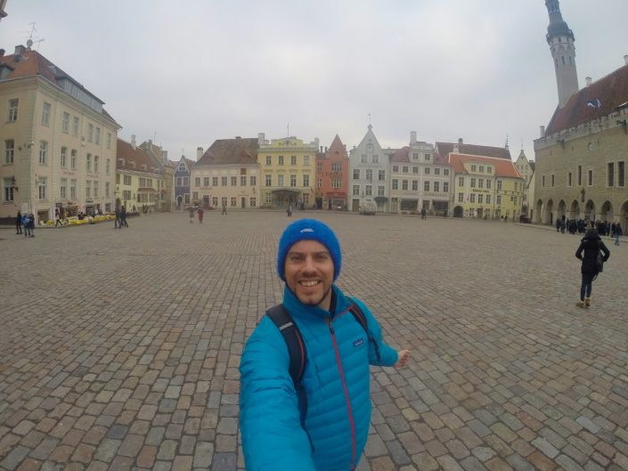 Simon Heyes is Tallinn's Old Town Square