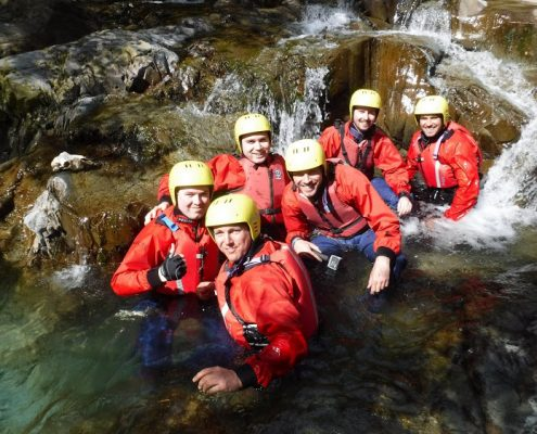 Canyoning in Coniston, Adventure - Lake District