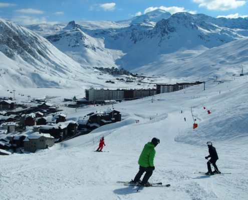 Best snow sure ski resorts France