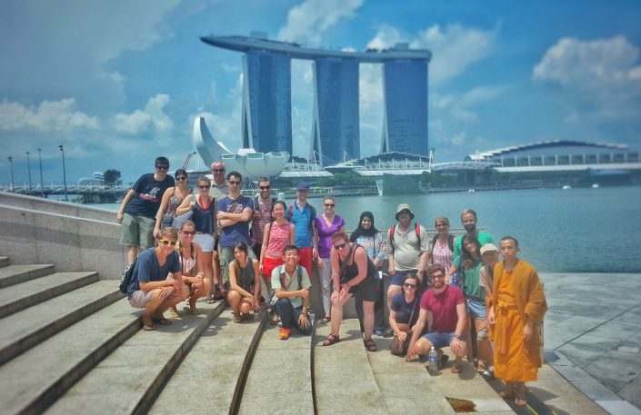 Singapore walking tour during a 12-hour layover