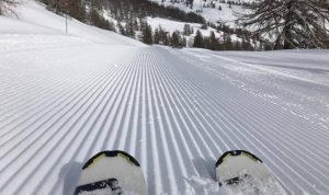 Corduroy piste - ski lingo - Simon's JamJar
