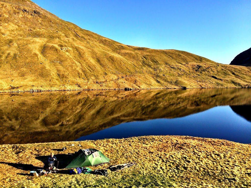 Wild Camping - Grisedale Tarn, Lake District