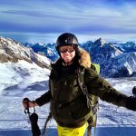 Simon Heyes - skiing on the Zugspitze, Germany