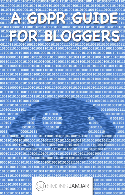Pin for later - GDPR guide for bloggers