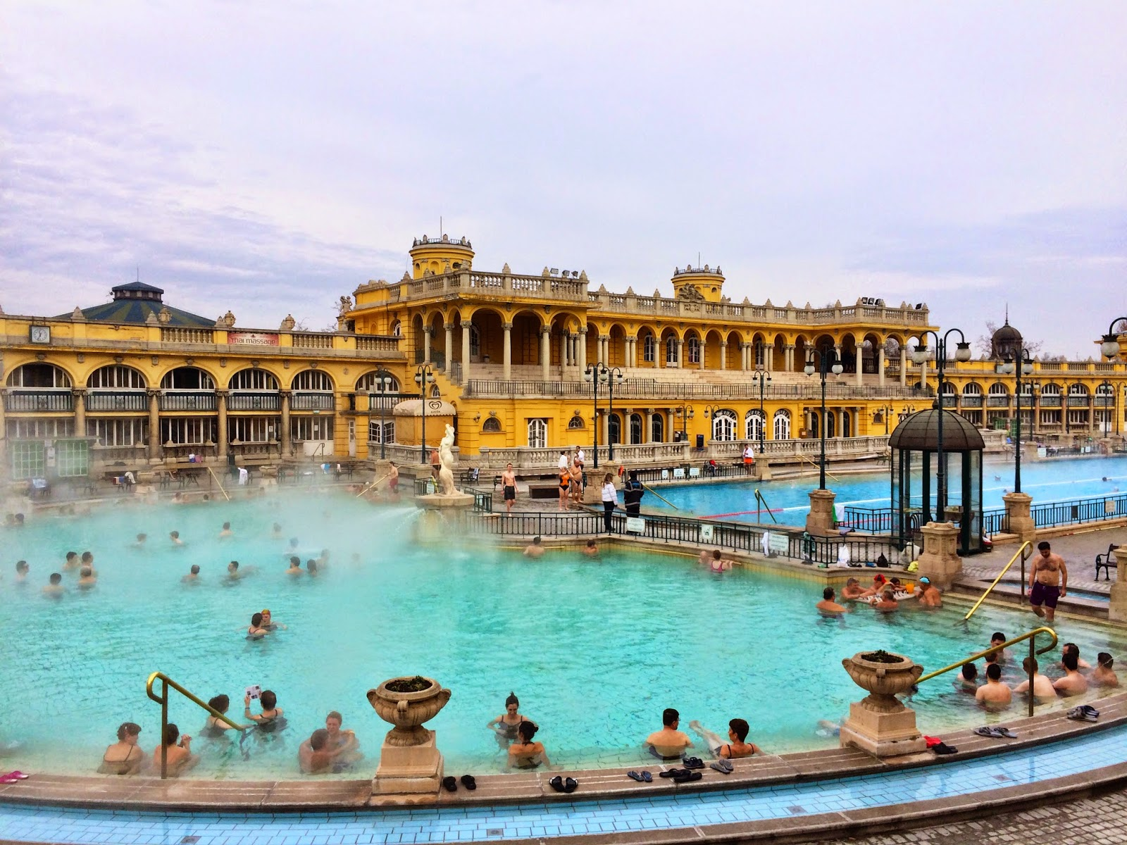 A Trip To The Sz 233 Chenyi Thermal Spa Baths Budapest