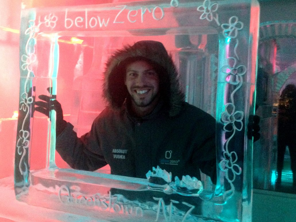 The Below Zero ice bar, Queenstown