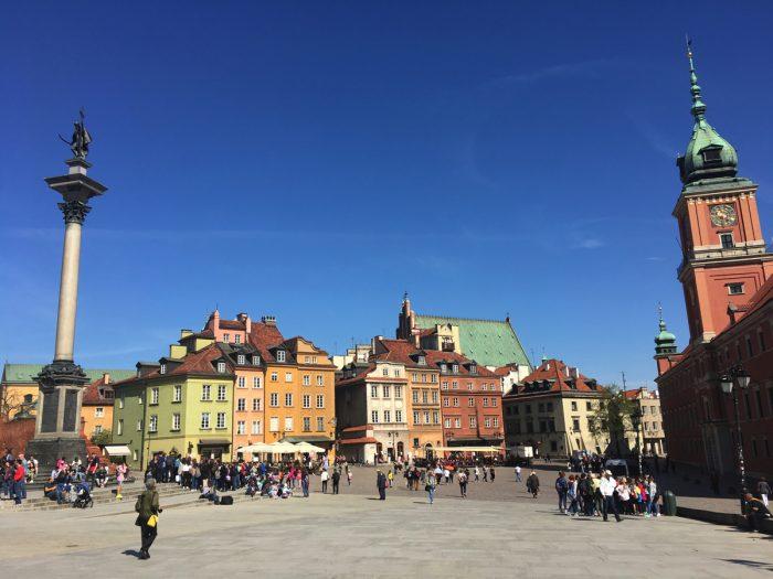 Castle Square - Warsaw, Poland - Adventure Bagging