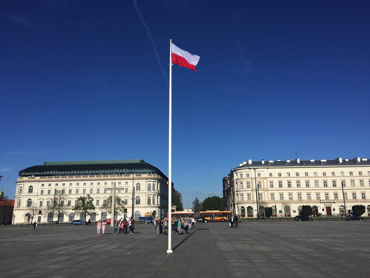 Pilsudski Square - Warsaw, Poland