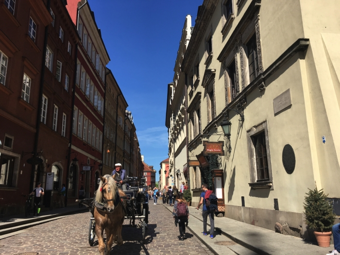 Some of the streets of Warsaw Old Town - Poland - Adventure Bagging