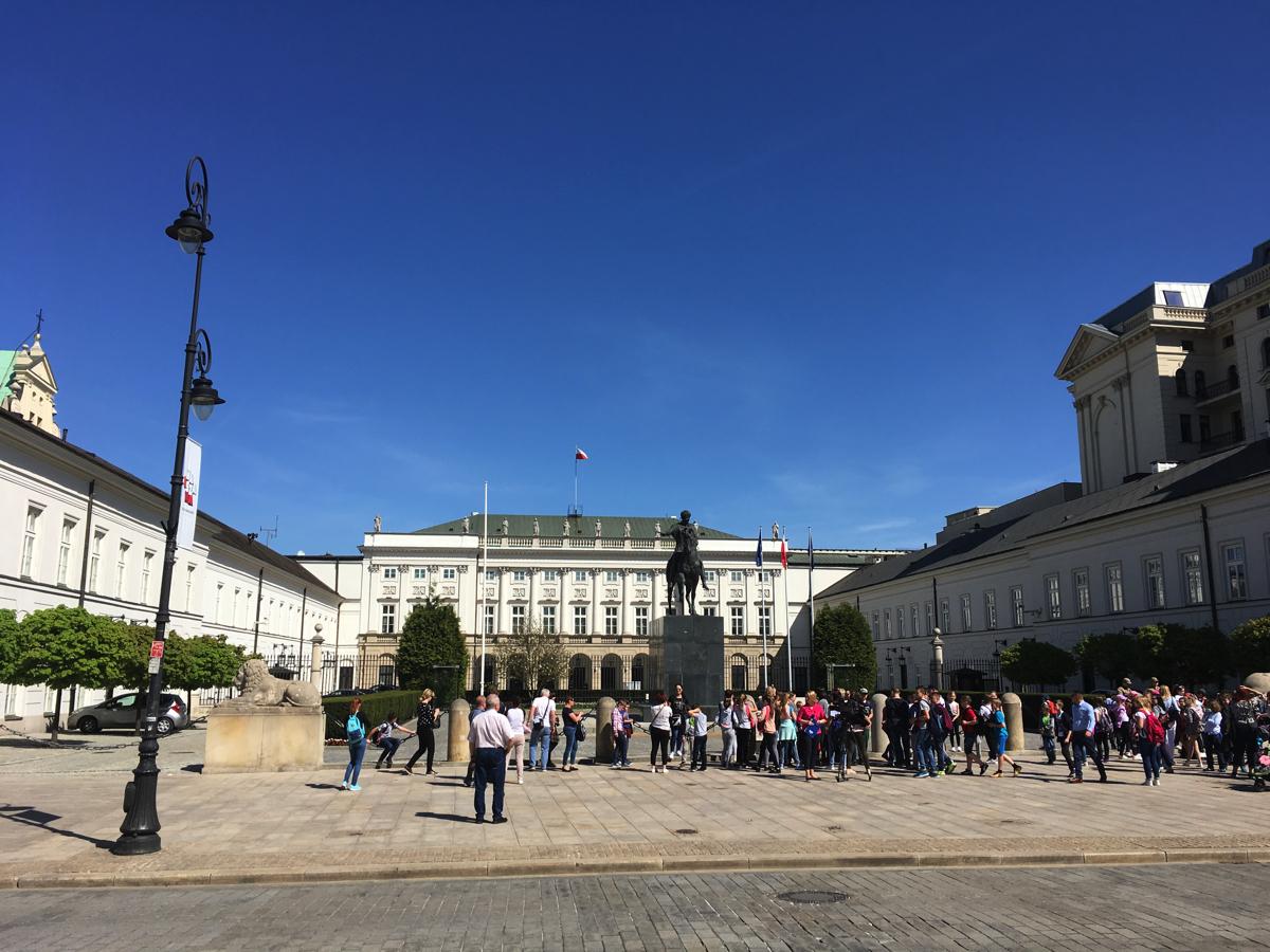 Presidential Palace - Warsaw, Poland