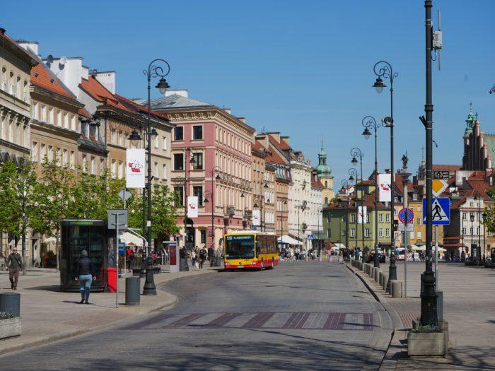 Przedmiescie Krakowskie Street - Warsaw, Poland