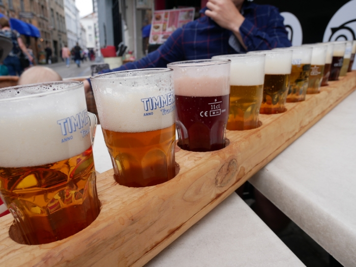12 beer tasting float - 't Brugsch Bieratelier, Bruges