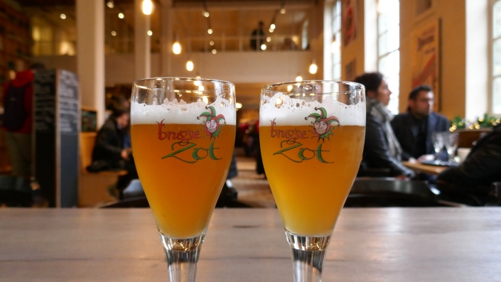 Best Beer Bars In Bruges - Blonde Zot - Adventure Bagging