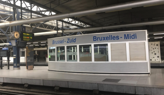 Brussels Midi / Zuid - same train station