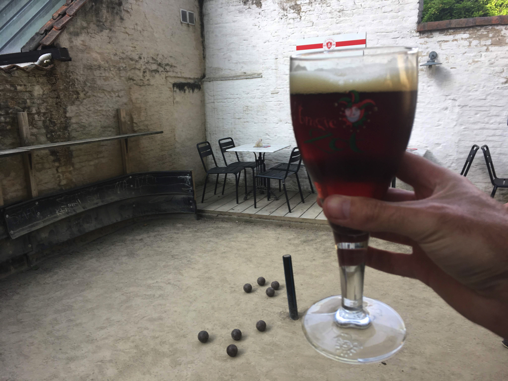 Cafe Vlissinghe - Dark Zot beer, Bruges
