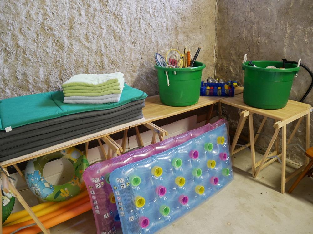 Les Deux Chenes - Loire Valley Farmhouse - Games Room