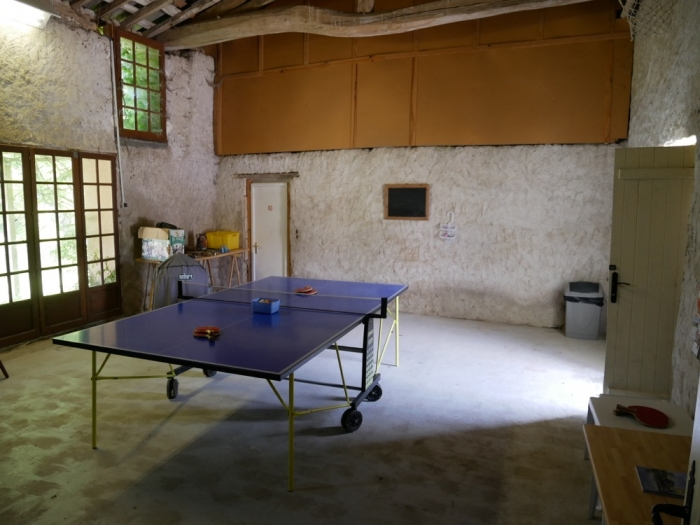 Les Deux Chenes - Loire Valley Farmhouse - Games Room