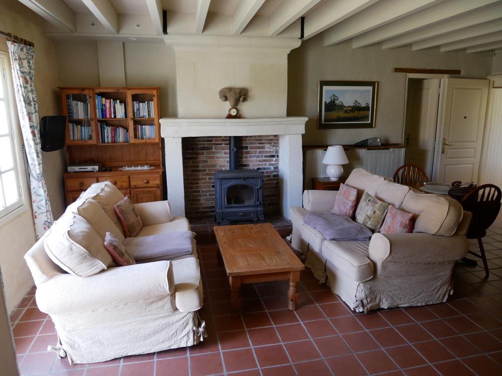 Les Deux Chenes - Loire Valley Farmhouse - Lounge