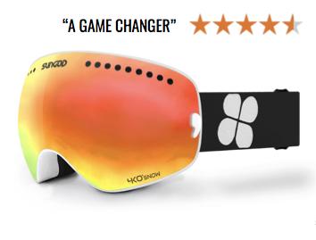 SunGod Revolts - Ski Goggles Ad