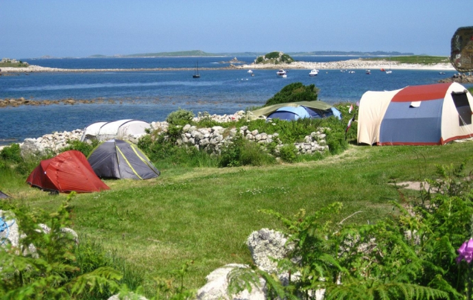 Troytown Farm campsite, Isles Of Scilly