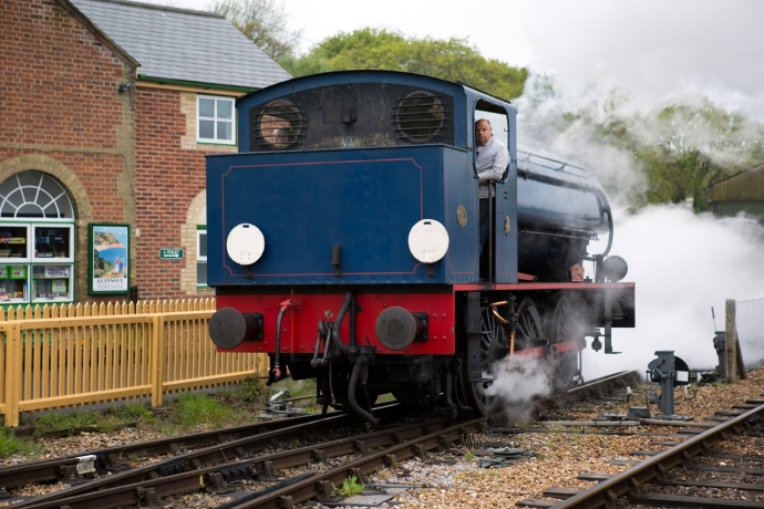 Isle Of Wight Steam Railway - Wooton