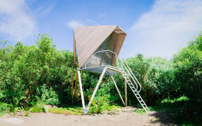 Kudhva-K1 Nature Cabin, Cornwall