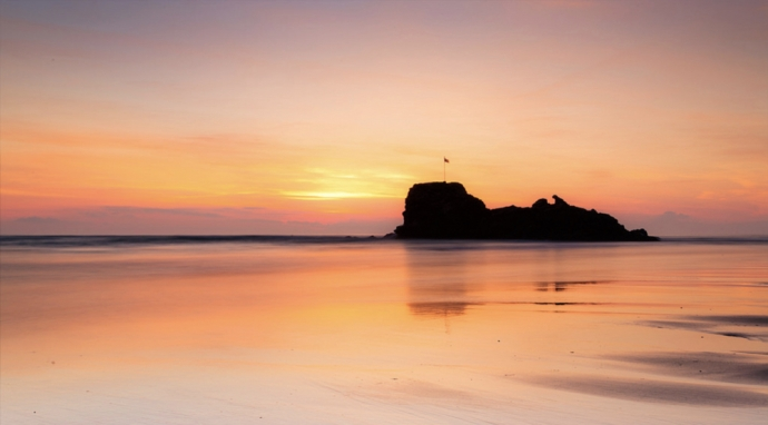 Perranporth sunset - Cornwall