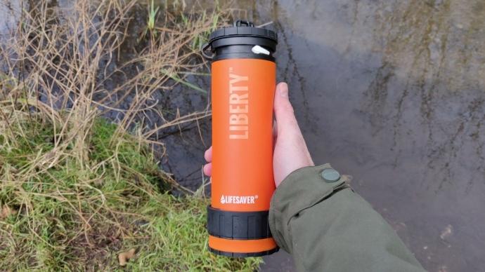 LifeSaver Liberty Bottle Review - Adventure Bagging
