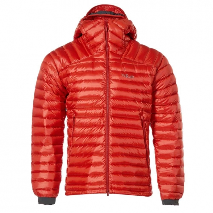 Rab Men's Microlight Summit Down Jacket - Orange