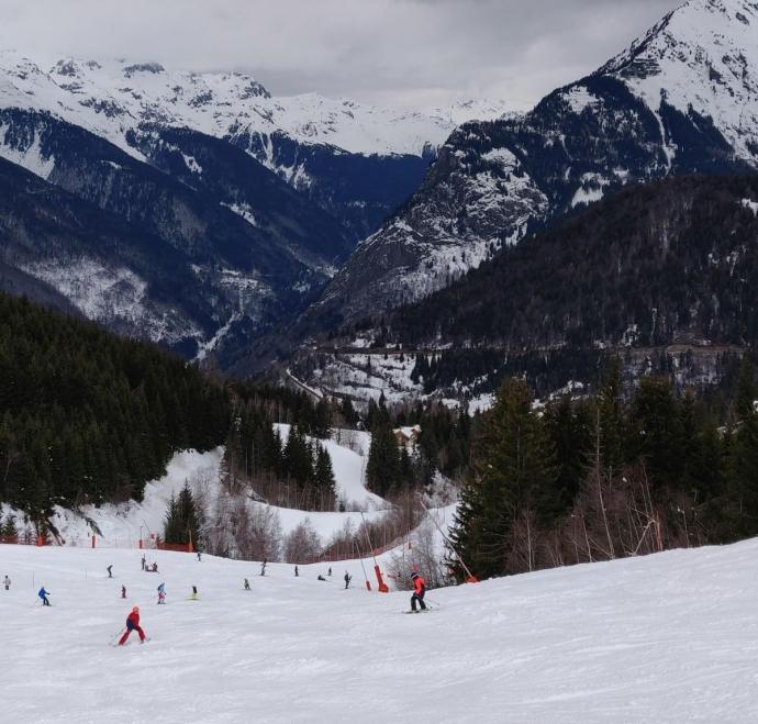 Poutran red piste - Alpe d'Huez